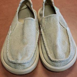 Sanuk canvas shoes